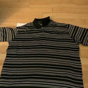 Men Burberry golf shirt